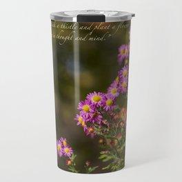Plant A Flower Travel Mug
