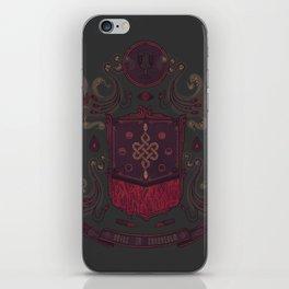 Born in Blood iPhone Skin