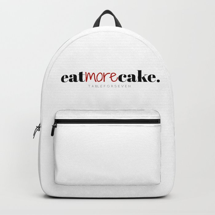 Eat More Cake Backpack