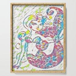 Fairy Tale Mermaid Serving Tray