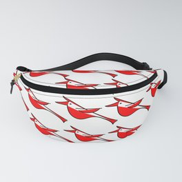 Radiance of Cardinals Fanny Pack