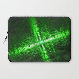 Emerald Tunnels Laptop Sleeve