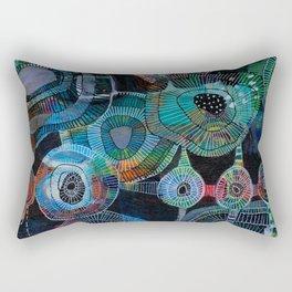 jellyfish picnic Rectangular Pillow