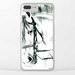 Agente VII Clear iPhone Case
