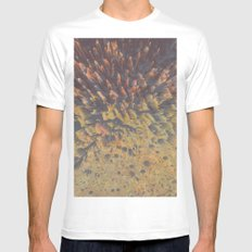 FLEW / PATTERN SERIES 008 MEDIUM White Mens Fitted Tee