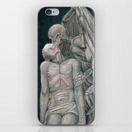 Kiss of Death iPhone Skin