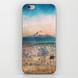 Desert Mountain Adventure - Nature Photography iPhone Skin
