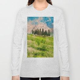 Hills of Tuscany Long Sleeve T-shirt