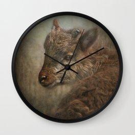 Soay Kid Wall Clock