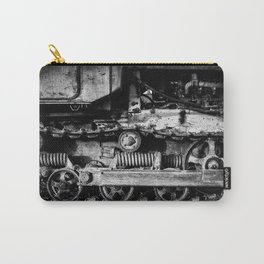 Vintage Caterpillar Tracks Carry-All Pouch