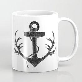 Antlered Anchor Coffee Mug