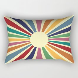 Sun Retro Art II Rectangular Pillow