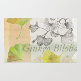 Ginkgo Biloba by Journey Home Made Rug