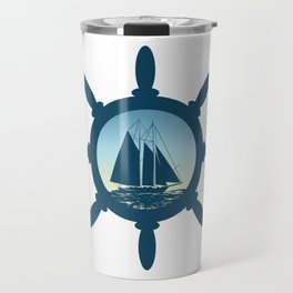 Sailing scene Travel Mug