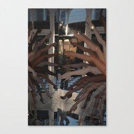 Paris, Les Gambettes / Gambs Canvas Print