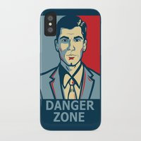 archer iPhone & iPod Cases featuring Archer by Mental Activity