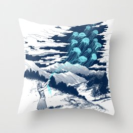Release the Kindness Throw Pillow