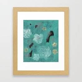 Flower Burst 3 Framed Art Print