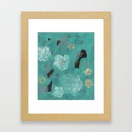 Flower Burst 3 Framed Art Print