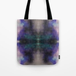 Green Red Invert Mirrored Tote Bag