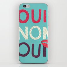 Oui Non Oui iPhone & iPod Skin