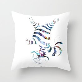 We Are All Mad Here Throw Pillow