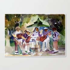 Summer Time Rock and Roll Canvas Print