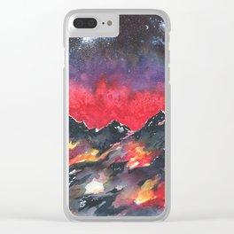 Aspiring Altitudes Clear iPhone Case