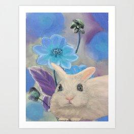White Dwarf Bunny 3 Art Print
