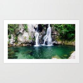 Waterfalls Bash Bish Art Print