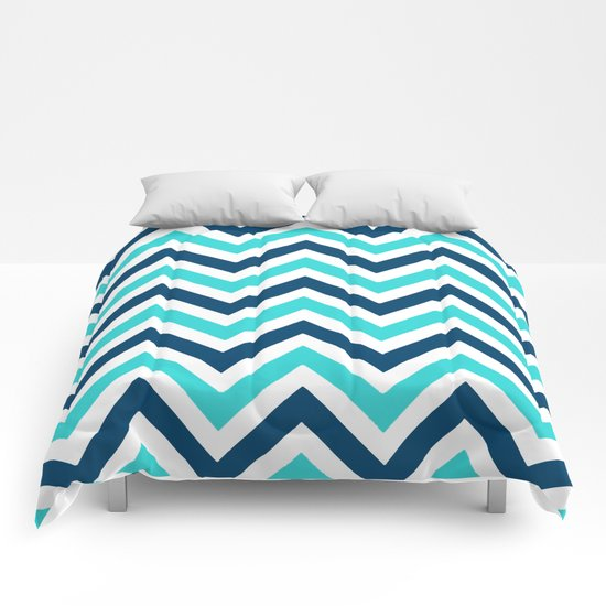 The Chevron has the Blues Comforters