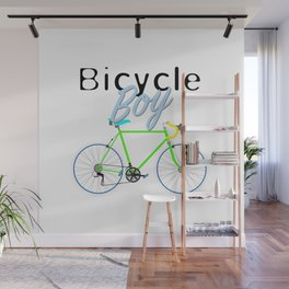 Bicycle Boy – June 12th – 200th Birthday of the Bicycle Wall Mural