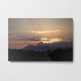Sunrise in Baja California Metal Print