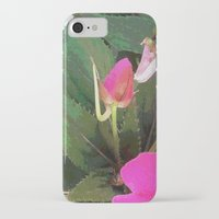 hot pink iPhone & iPod Cases featuring Hot Pink by Glenn Designs