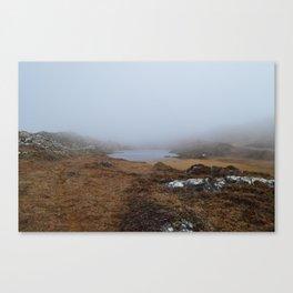 Misty Lake, Sheep's Head, West Cork Canvas Print