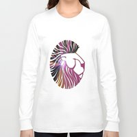 king Long Sleeve T-shirts featuring king by Laura Santeler
