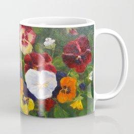 Multicolor pansies Coffee Mug