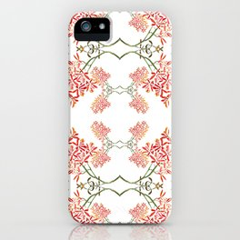 Orchids on White iPhone Case
