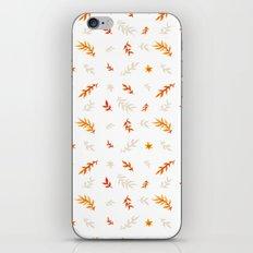 Watercolor autumn iPhone & iPod Skin