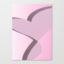 Geometric Calendar - Day 45 Canvas Print