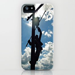 Rusty the Lineman iPhone Case