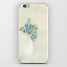 vintage greeting  iPhone & iPod Skin