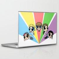 powerpuff girls Laptop & iPad Skins featuring Powerpuff!Direction by Cyrilliart