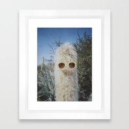 Cool Cactus Framed Art Print