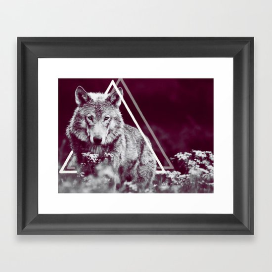 WOLF I Framed Art Print