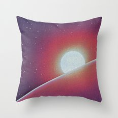 SPACE III Throw Pillow
