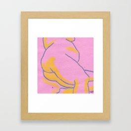Booty Framed Art Print