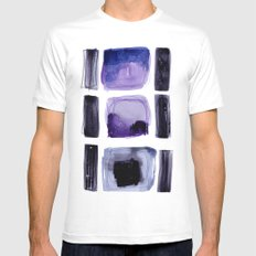 SOS Mens Fitted Tee MEDIUM White