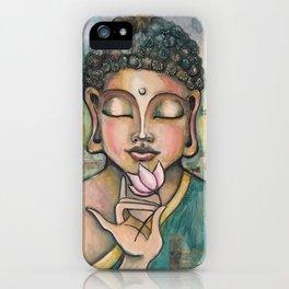 Peace of Buddha iPhone Case