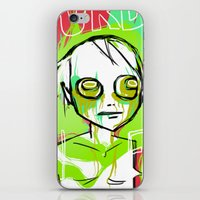 dramatical murder iPhone & iPod Skins featuring MURDER by ASHES